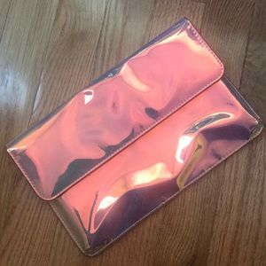 Urban Outfitters Holographic Clutch